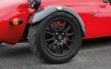 Westfield Sport 250 alloy wheels