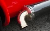 Westfield Sport 250 chrome exhaust