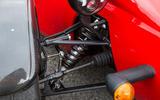 Westfield Sport 250 exposed suspension