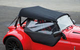 Westfield Sport 250 fabric roof