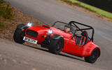 Westfield Sport 250 cornering