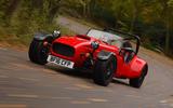 Westfield Sport 250 on the road