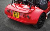 Westfield Sport 250 rear end