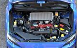 2.5-litre Subaru WRX STI petrol engine