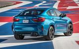 BMW X6 M's rear