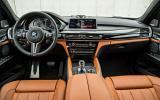 BMW X6 M's dashboard