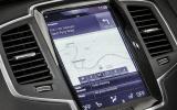 Volvo XC90 infotainment system