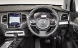 Volvo XC90 dashboard