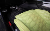 Zenvo TS1 GT hexagonal print leather seats