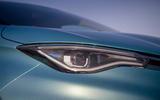 Renault Zoe 2020 road test review - headlights