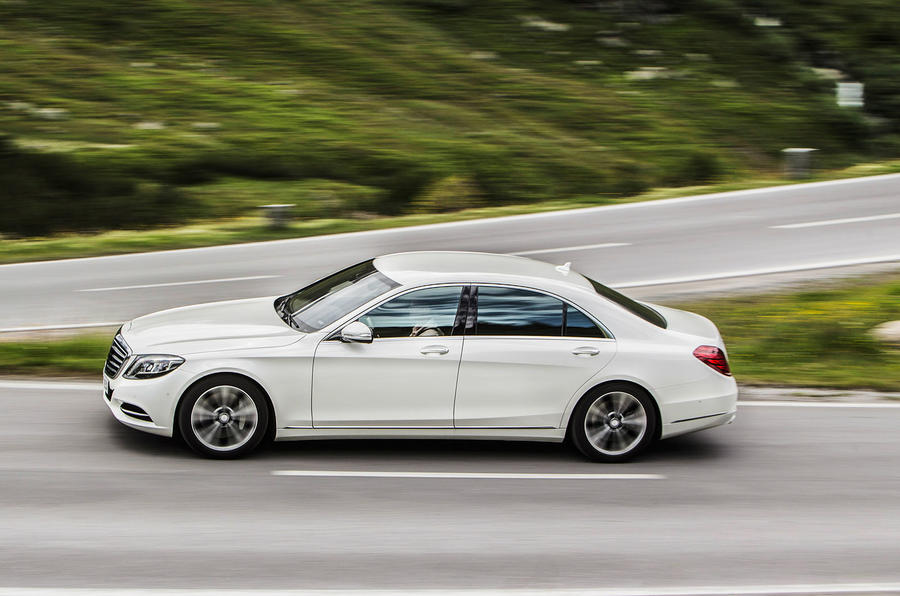 ... 500 Plug-In Hybrid is 145kg heavier than the old V8-powered S 500