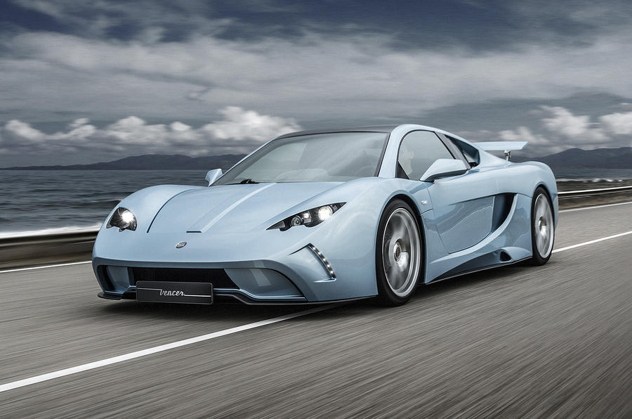 Production version of Vencer Sarthe sports car unveiled