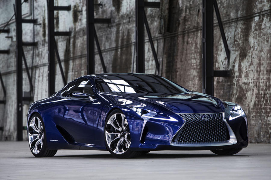 Lexus LFA replacement previewed