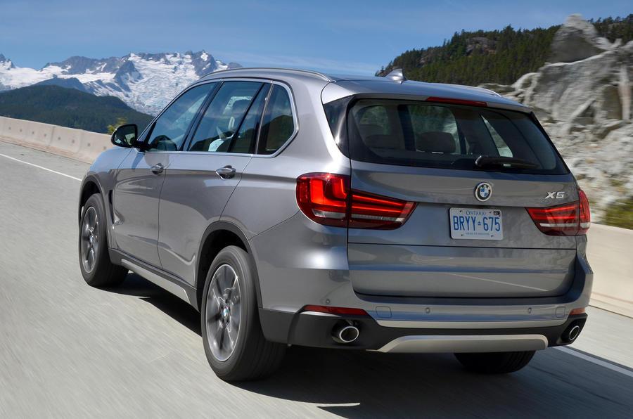 BMW X5 XDrive rear end