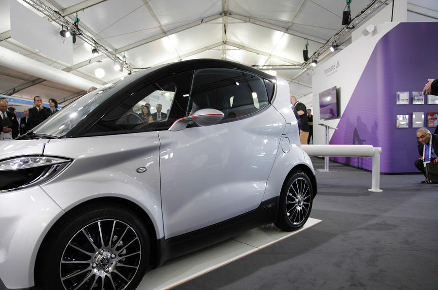 Gordon Murray - Yamaha city car is making progress