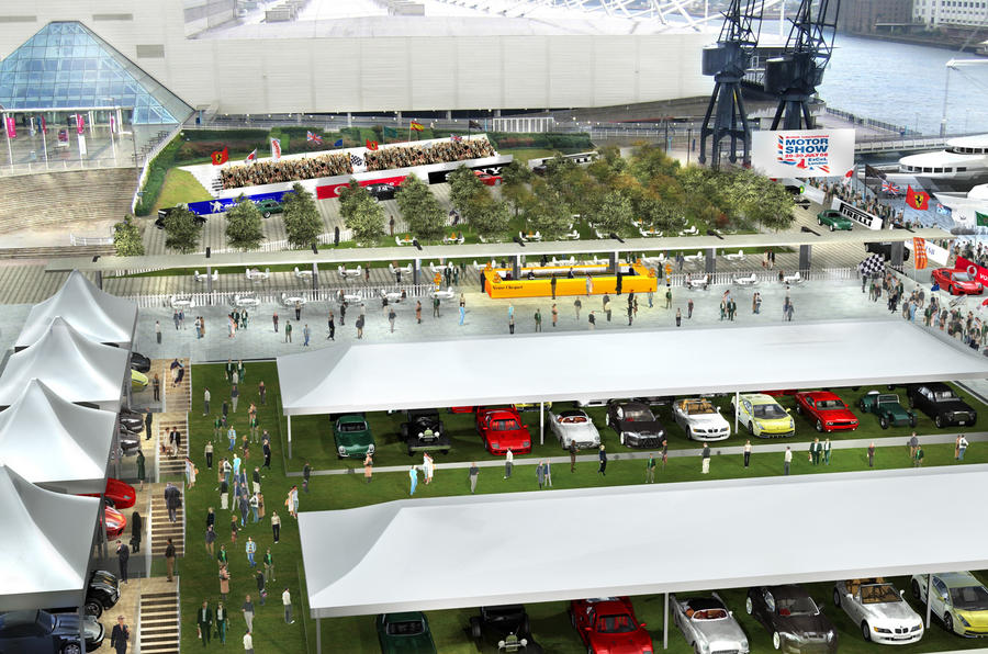 London motor show will return in 2016 after eight-year absence