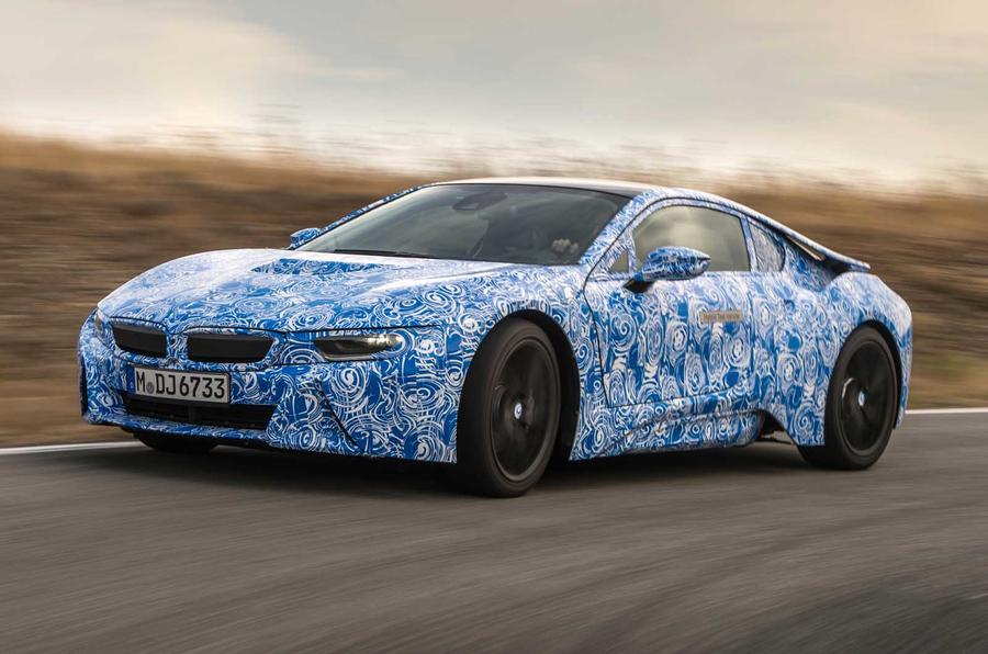 113mpg BMW i8 prototype