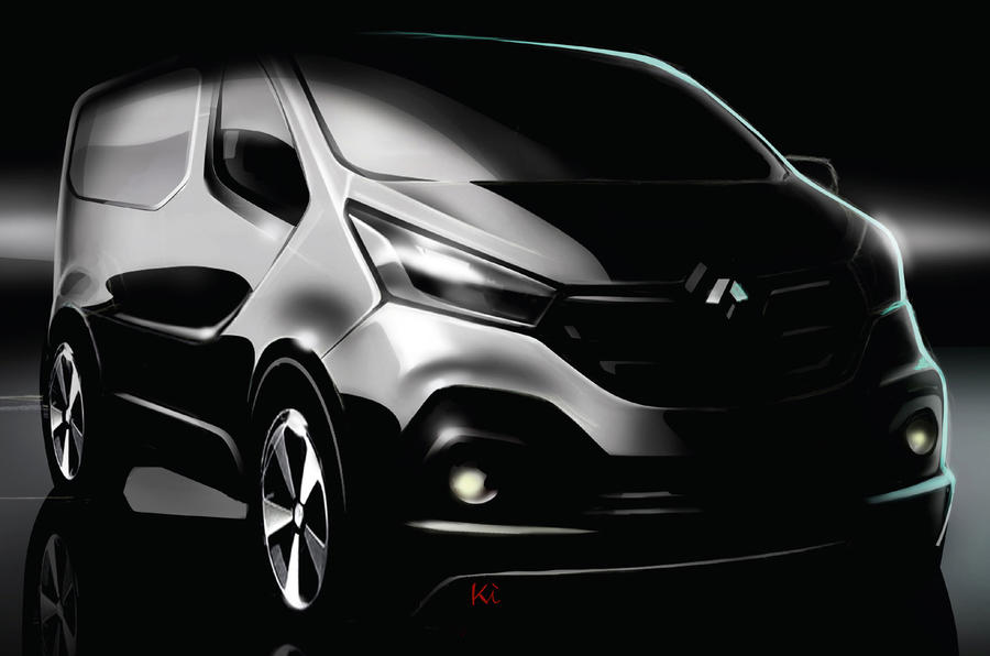 New British-built Vauxhall Vivaro van previewed