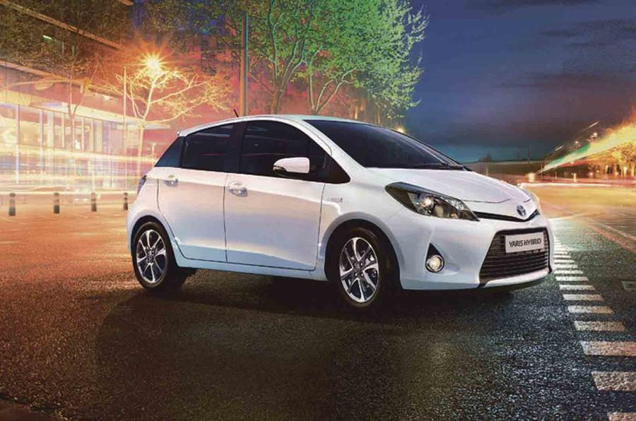 Toyota Yaris updated for 2014