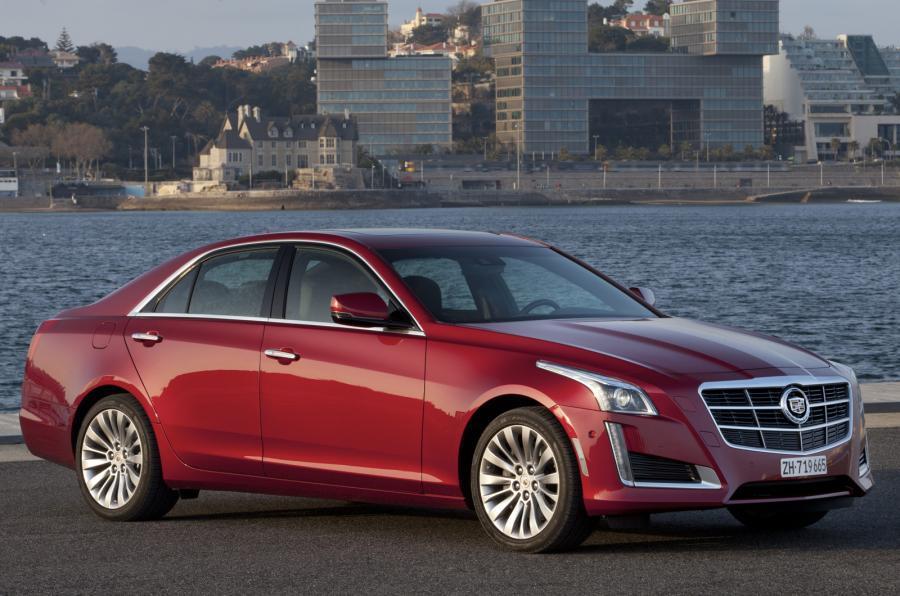 3 star Cadillac CTS