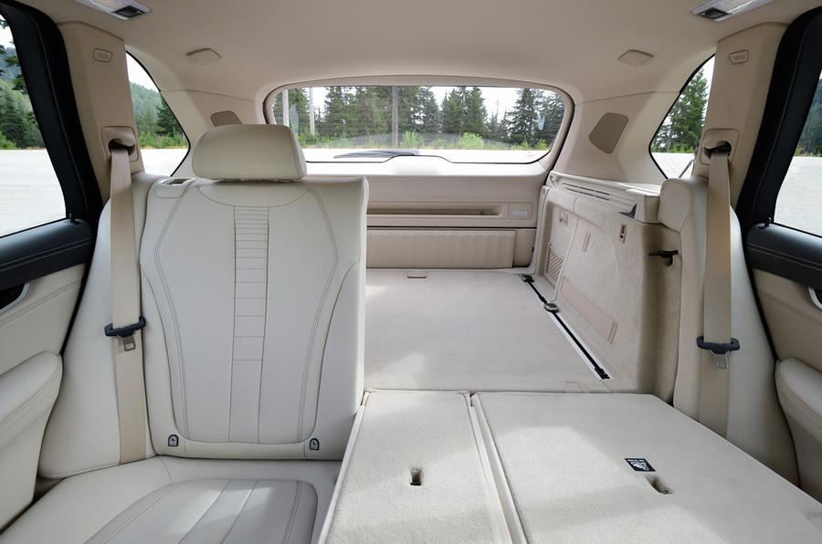 BMW X5 seating flexibility