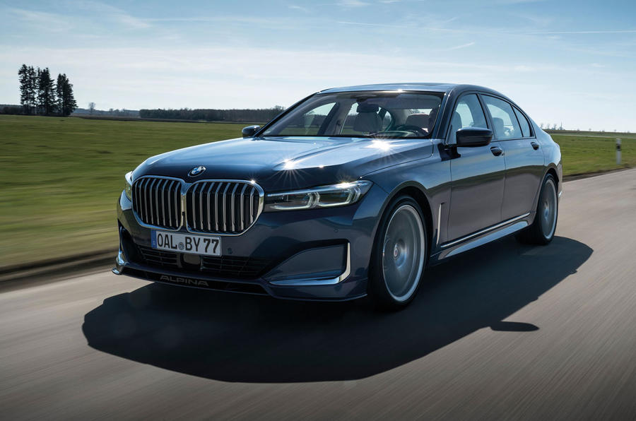 Alpina B7 2019 review - hero front