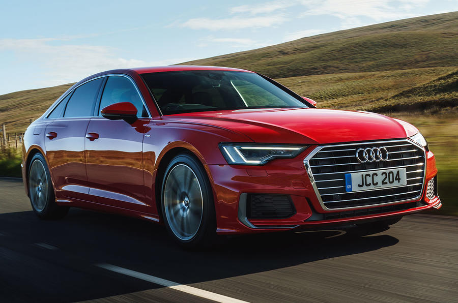 Audi A6 2019 road test review - hero front