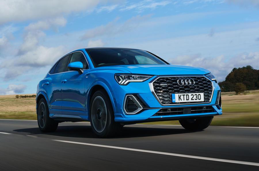 Audi Q3 Sportback 2019 road test review - hero front