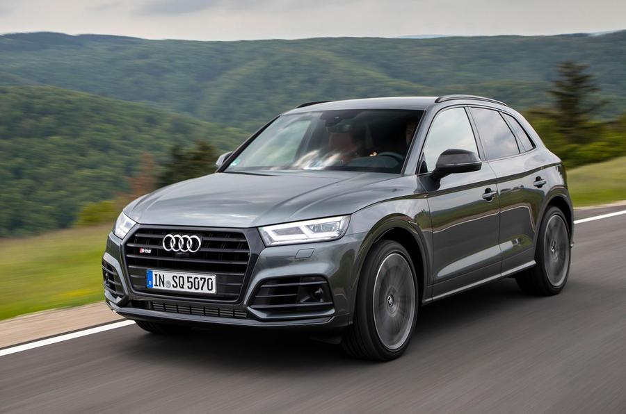 Audi SQ5 TDI 2020 road test review - hero front
