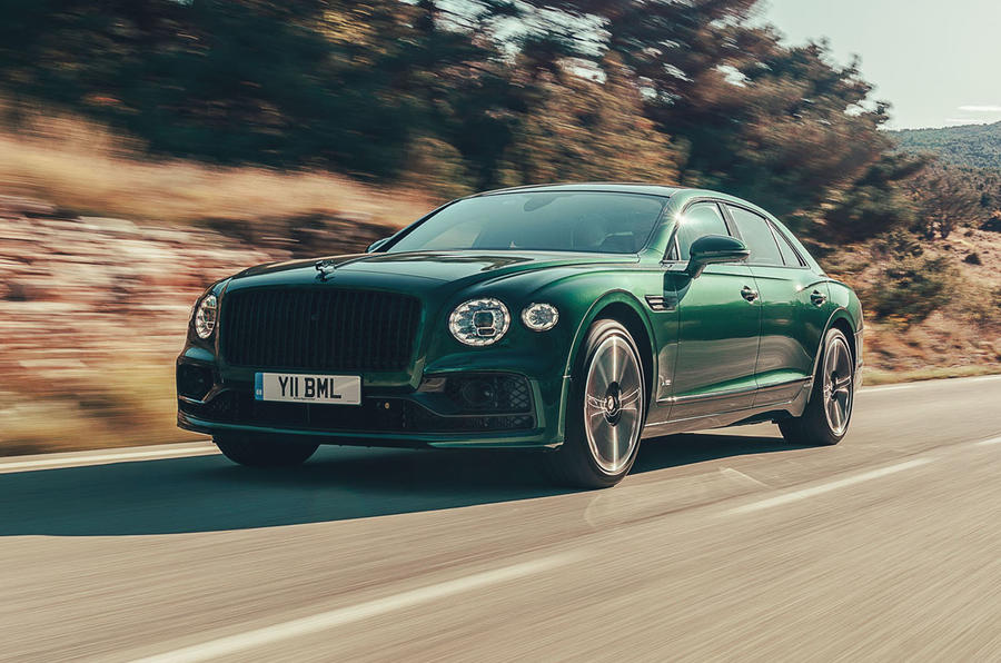 Bentley Flying Spur 2019 first drive review - hero front