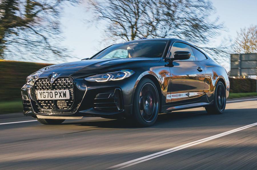 BMW Série 4 : essai routier 2021 héros