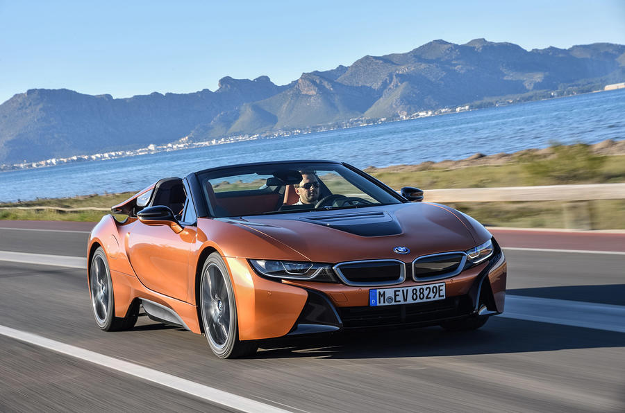 Bmw I8 Roadster Blue