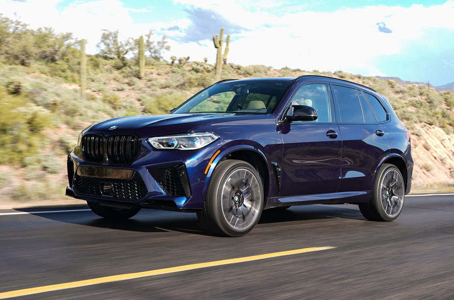 BMW X5 M Competition 2020 road test review - hero front