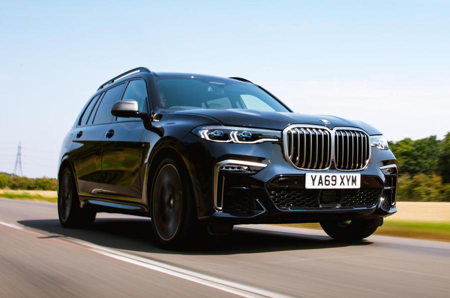 BMW X7 2020 : examen de l'essai routier - le front des héros