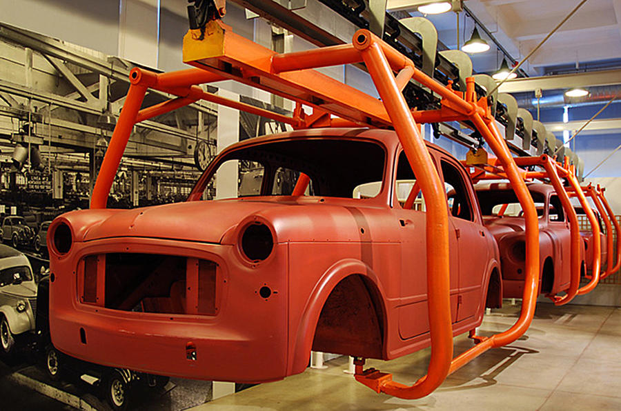Inside Fiat's secret car museum - picture gallery