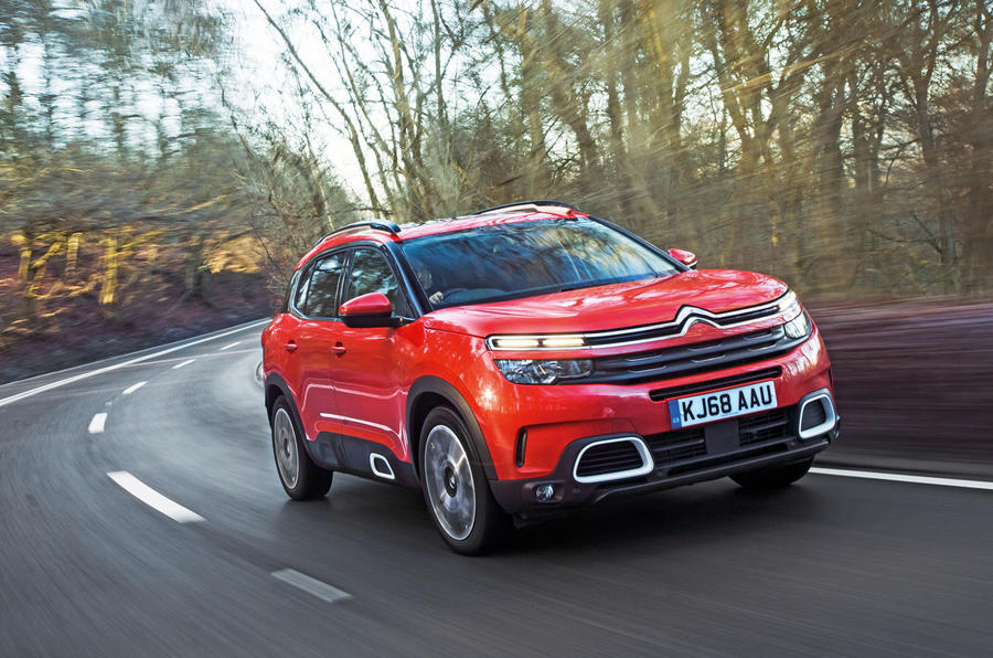 citroen c5 aircross review 2019 autocar. Black Bedroom Furniture Sets. Home Design Ideas