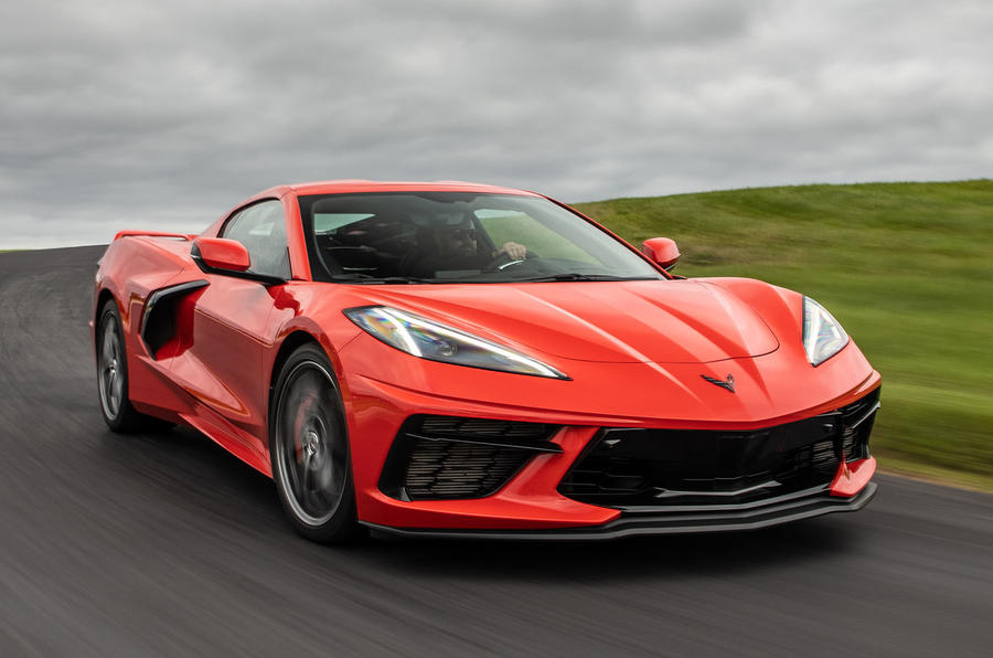 Corvette Stingray C8 2019 road test review - hero front