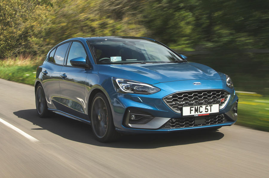 Ford Focus ST 2019 road test - hero front