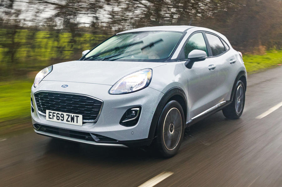 Ford Puma 2020 road test review - hero front