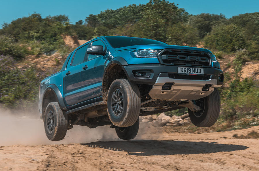 Ford Ranger Raptor 2019 road test review - hero front