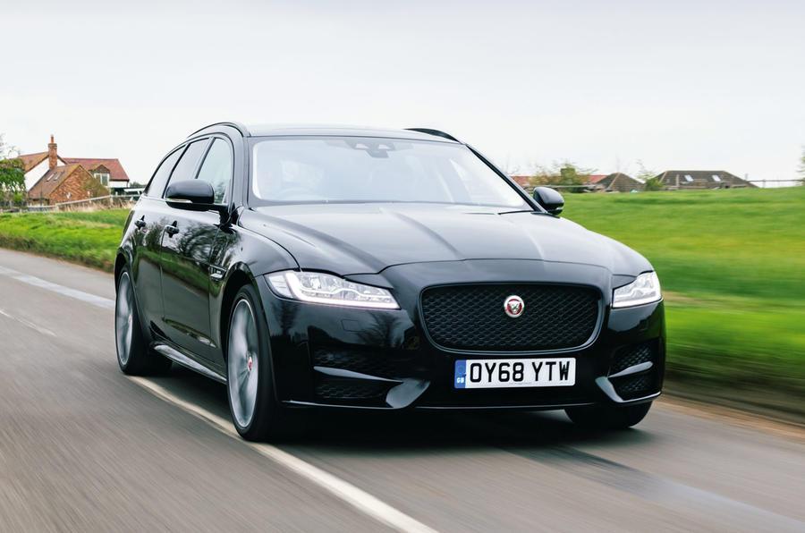 Jaguar XF Sportbrake 2019 road test review - hero front
