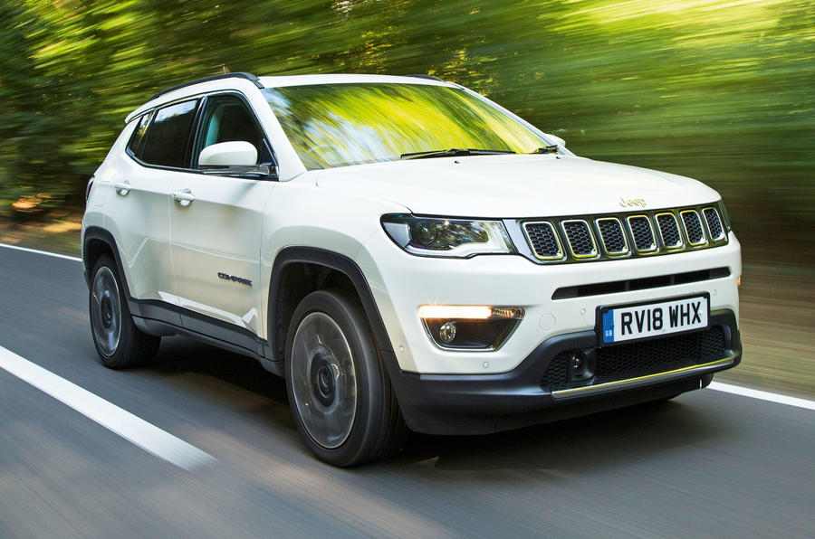 Jeep Compass 2018 road test review - hero front