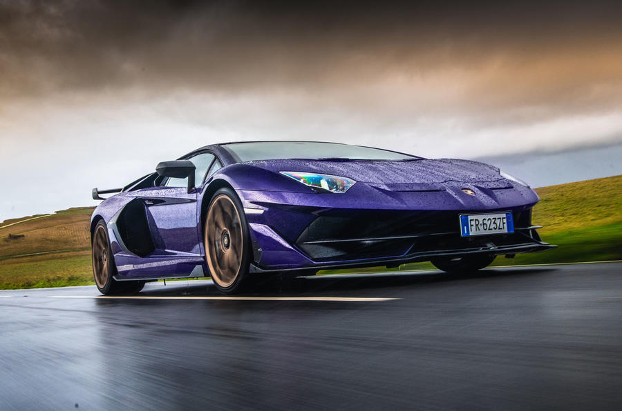 Lamborghini Aventador SVJ 2019 road test review - hero front