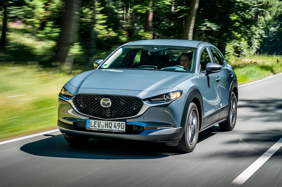 Mazda CX-30 2019 road test review - hero front
