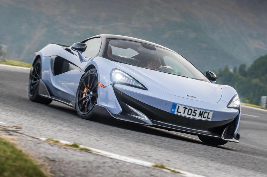 McLaren 600LT 2018 review - hero front