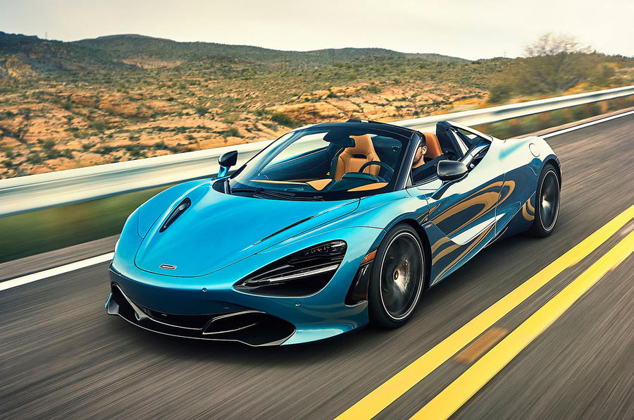 McLaren 720S Spider 2019 road test review - hero front