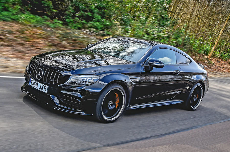 Mercedes-AMG C63 Coupé 2019 road test review - hero front
