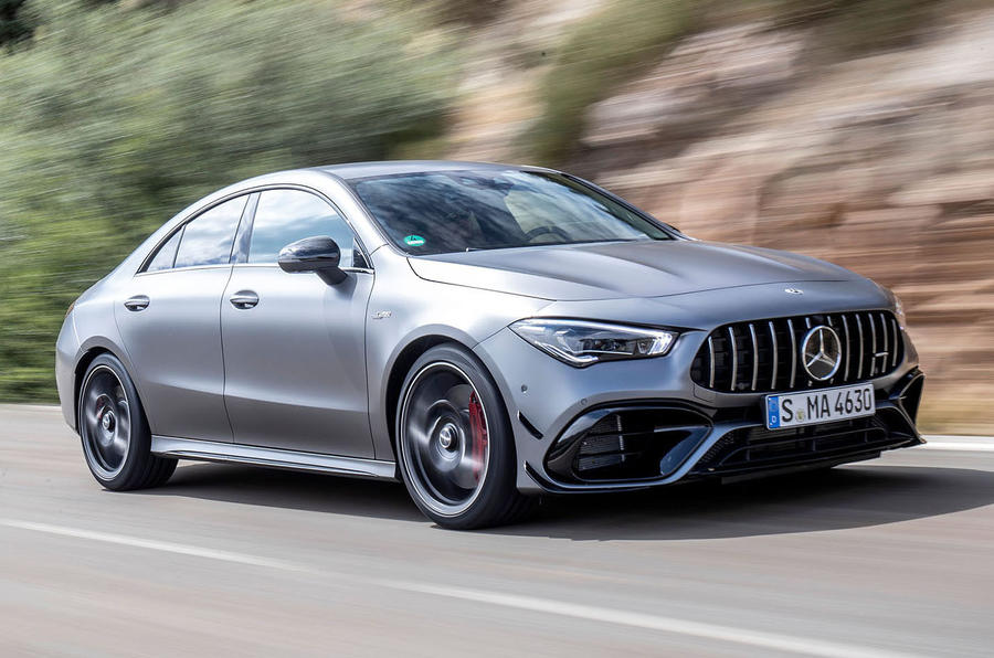 Mercedes-AMG CLA 45 S 2019 road test review - hero front