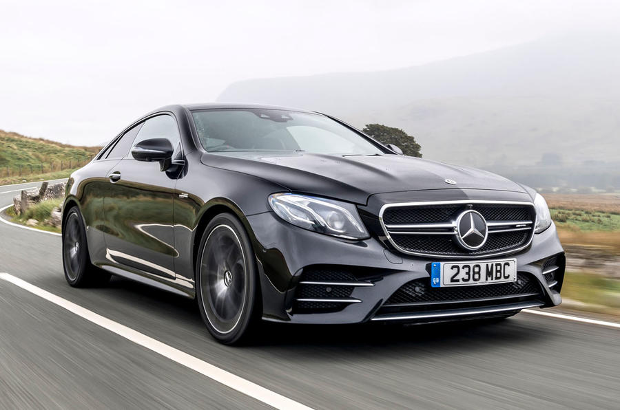Mercedes-AMG E53 2018 review - hero front