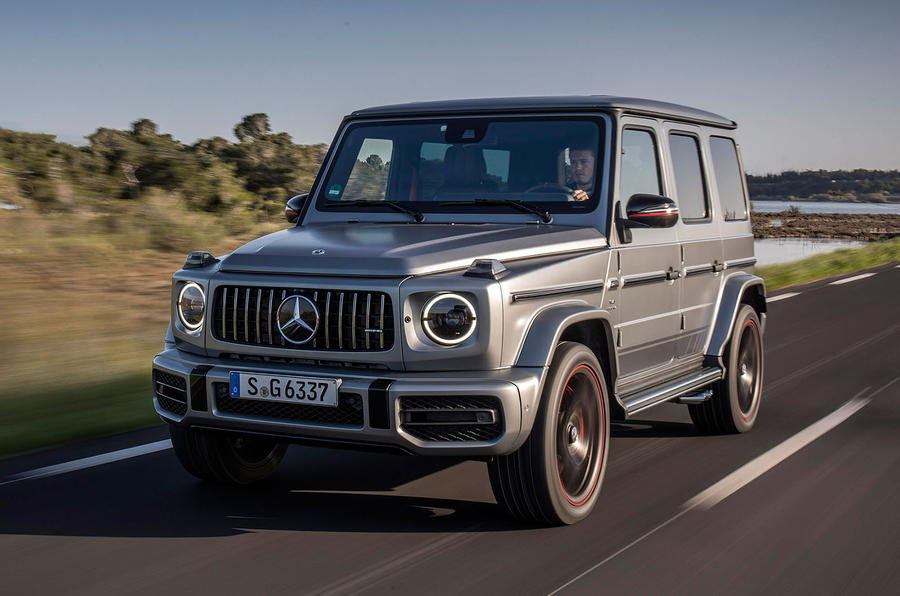 Mercedes-AMG G63 2018 review hero front